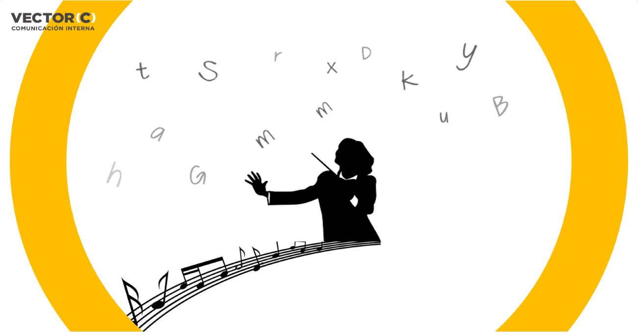 comunicación interna, música y silencios